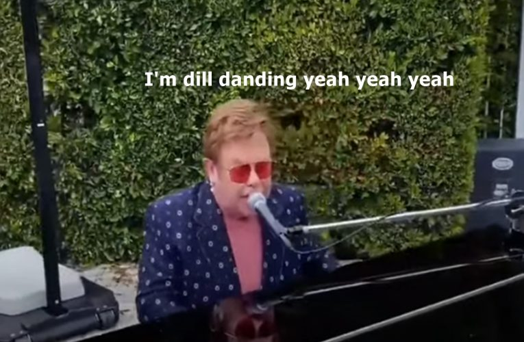 Elton John, is that REALLY you???