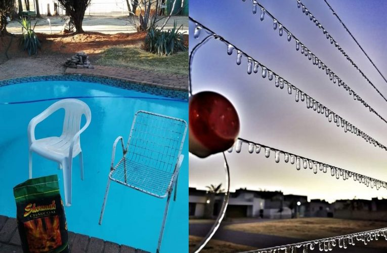 Brrr! A Freezing Friday in South Africa