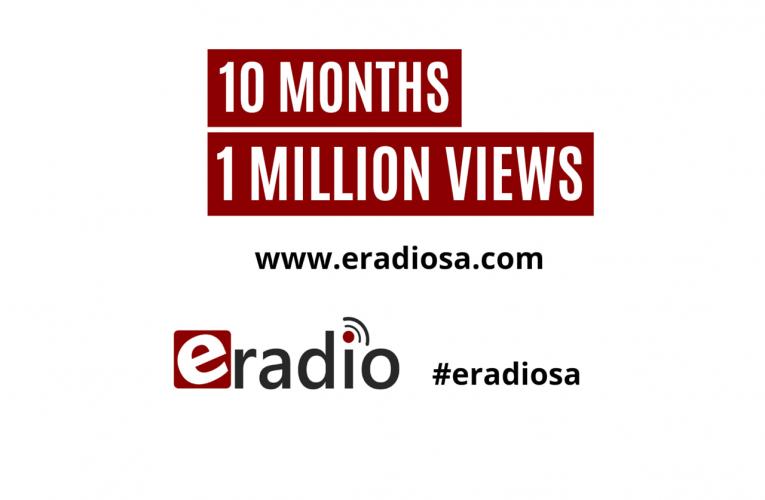eRadio celebrates 1 Million Views