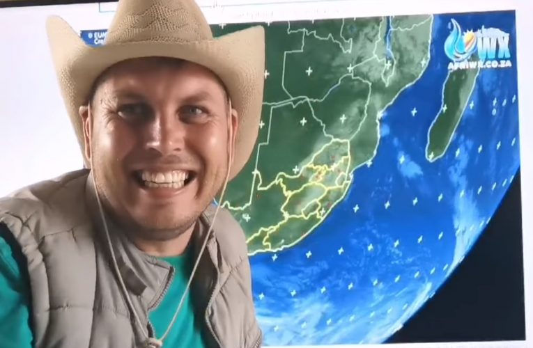 Getting to know SA's Weather Hooligan, Juandre Vorster